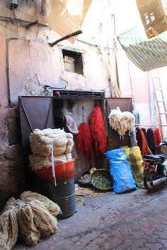 Marrakesh Medina streets